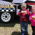 Kids Enjoying Boardwalk Hot Dogs - Richmond, VA